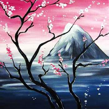 Canvas Painting Class on 10/07 at Muse Paintbar White Plains
