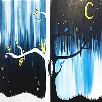 Couple's Paint Night on 03/15 at Muse Paintbar Patriot Place