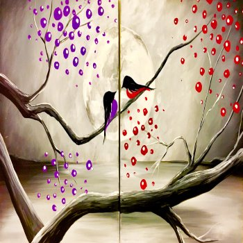 Couple's Paint Night on 02/14 at Muse Paintbar Portland