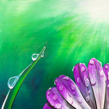 Canvas Painting Class on 04/14 at Muse Paintbar Gaithersburg