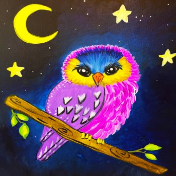 Kids Painting Class on 08/10 at Muse Paintbar Portland