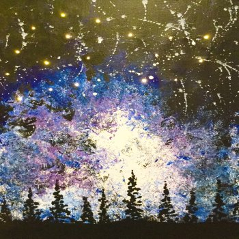 LED Canvas Painting on 09/15 at Muse Paintbar Lynnfield