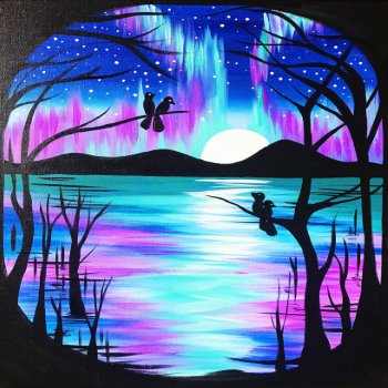 Canvas Painting Class on 06/26 at Muse Paintbar Patriot Place
