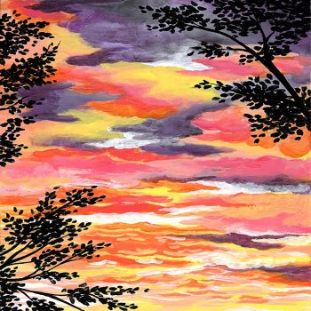 Canvas Painting Class on 11/20 at Muse Paintbar Richmond