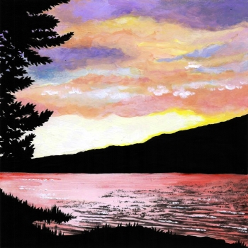 Canvas Painting Class on 04/18 at Muse Paintbar Hingham Shipyard