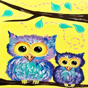 Kids Painting Class on 08/18 at Muse Paintbar Manchester