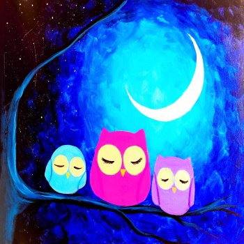 Kids Painting Class on 05/25 at Muse Paintbar Lynnfield