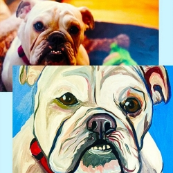 Paint Your Pet on 03/06 at Muse Paintbar Gainesville