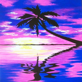 Canvas Painting Class on 07/27 at Muse Paintbar Patriot Place