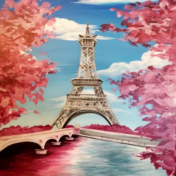 Paint Your Masterpiece on 08/23 at Muse Paintbar Woodbridge
