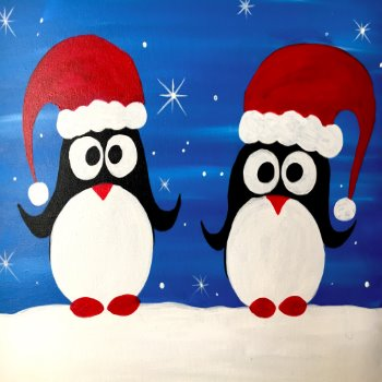 Kids Painting Class on 12/21 at Muse Paintbar Gaithersburg