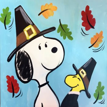Kids Painting Class on 11/23 at Muse Paintbar Hingham Shipyard