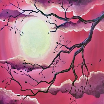 Canvas Painting Class on 02/12 at Muse Paintbar Gaithersburg