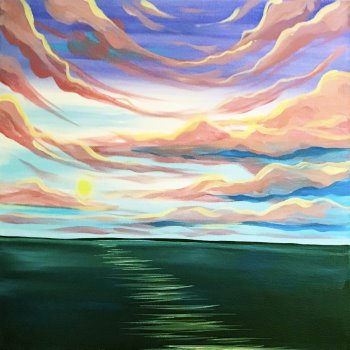 Canvas Painting Class on 05/25 at Muse Paintbar Gainesville