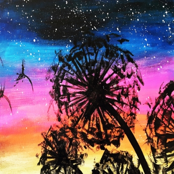 Canvas Painting Class on 01/26 at Muse Paintbar Portland