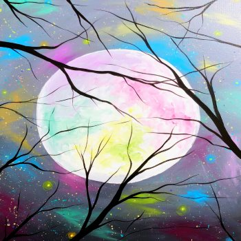 Canvas Painting Class on 10/31 at Muse Paintbar Fairfax (Mosaic)