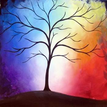 Canvas Painting Class on 03/03 at Muse Paintbar Virginia Beach