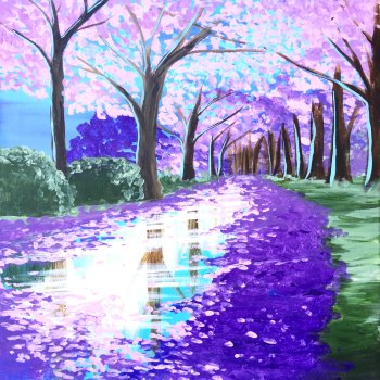 Paint Your Masterpiece on 03/16 at Muse Paintbar Gainesville
