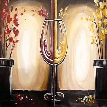 Couple's Paint Night on 05/18 at Muse Paintbar Fairfax (Mosaic)