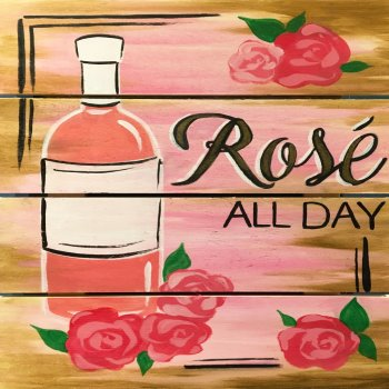 Wooden Sign Painting on 02/11 at Muse Paintbar Lynnfield