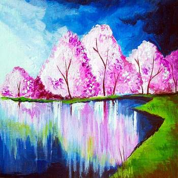 Canvas Painting Class on 04/19 at Muse Paintbar Providence