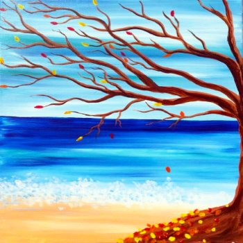 Canvas Painting Class on 07/07 at Muse Paintbar Patriot Place
