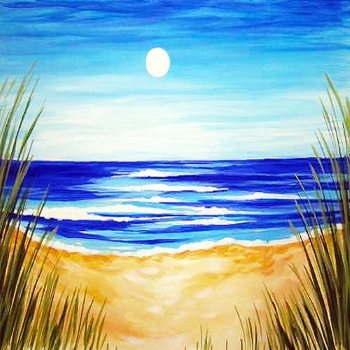 Canvas Painting Class on 06/29 at Muse Paintbar Manchester