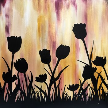 Special Paint & Sip Event on 03/30 at Muse Paintbar Patriot Place