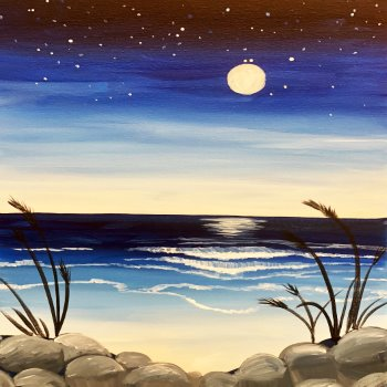 Canvas Painting Class on 08/31 at Muse Paintbar Manchester