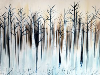 Canvas Painting Class on 02/22 at Muse Paintbar Legacy Place