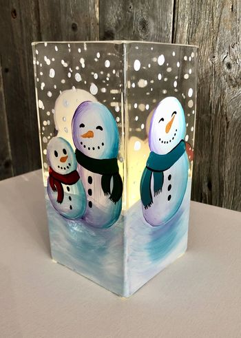 Glassware Painting Event on 12/19 at Muse Paintbar Norwalk
