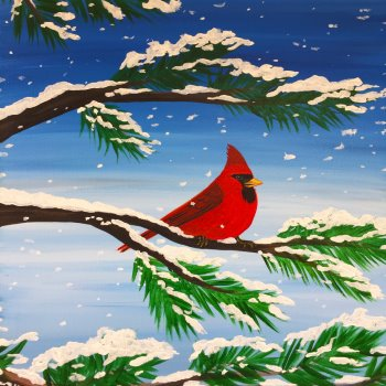 Canvas Painting Class on 01/20 at Muse Paintbar Patriot Place
