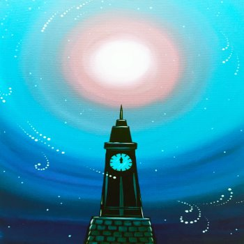 Snowy Watchtower - Muse Paintbar