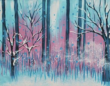 Canvas Painting Class on 01/09 at Muse Paintbar Manchester
