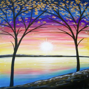 Canvas Painting Class on 04/28 at Muse Paintbar Richmond