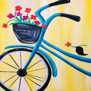 Canvas Painting Class on 04/14 at Muse Paintbar Lynnfield