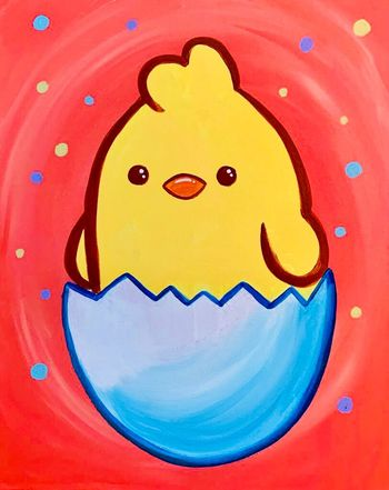 Kids Painting Class on 04/04 at Muse Paintbar Milford