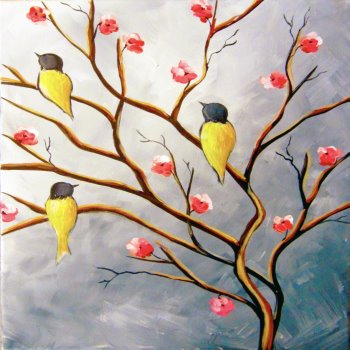 Canvas Painting Class on 03/28 at Muse Paintbar Richmond