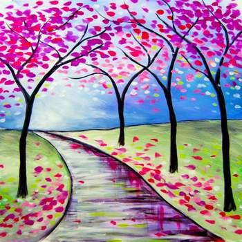 Canvas Painting Class on 02/21 at Muse Paintbar NYC - Tribeca