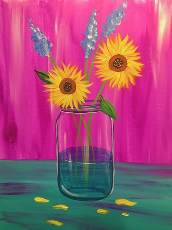 Canvas Painting Class on 04/26 at Muse Paintbar Virginia Beach