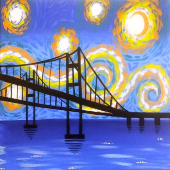 Canvas Painting Class on 03/23 at Muse Paintbar Annapolis