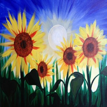 Kids Painting Class on 05/05 at Muse Paintbar National Harbor