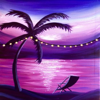 LED Canvas Painting on 08/14 at Muse Paintbar Marlborough