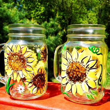 Glassware Painting Event on 07/23 at Muse Paintbar West Hartford