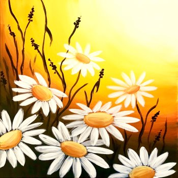 Canvas Painting Class on 05/26 at Muse Paintbar Fairfax (Mosaic)