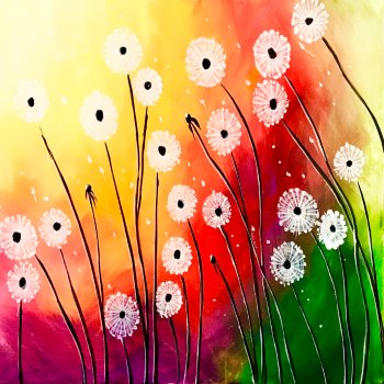 Canvas Painting Class on 04/27 at Muse Paintbar Glastonbury