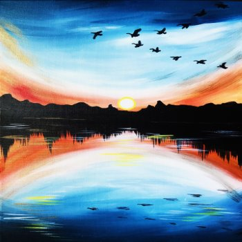 Canvas Painting Class on 03/30 at Muse Paintbar Annapolis
