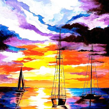 Paint Your Masterpiece on 03/16 at Muse Paintbar Patriot Place