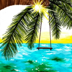Canvas Painting Class on 07/15 at Muse Paintbar Gainesville