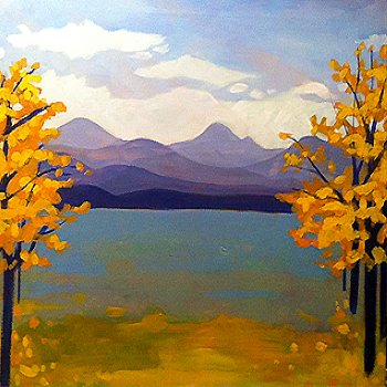 Canvas Painting Class on 11/26 at Muse Paintbar Ridge Hill